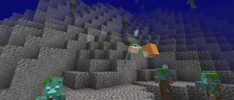 edycja bedrock minecraft aktualizacja oceanu beta mcpe mini