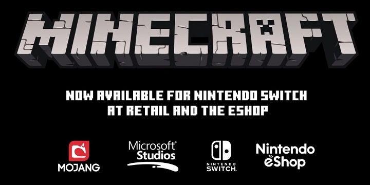 minecraft na nintendo switch w sklepach oraz eshop