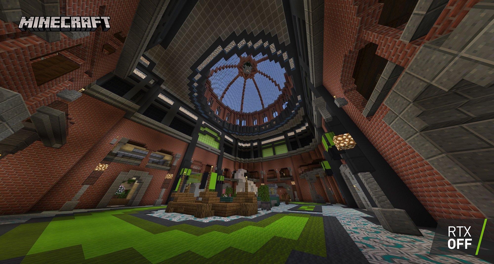 minecraft with rtx beta razzleberries texture showcase 003 rtx off