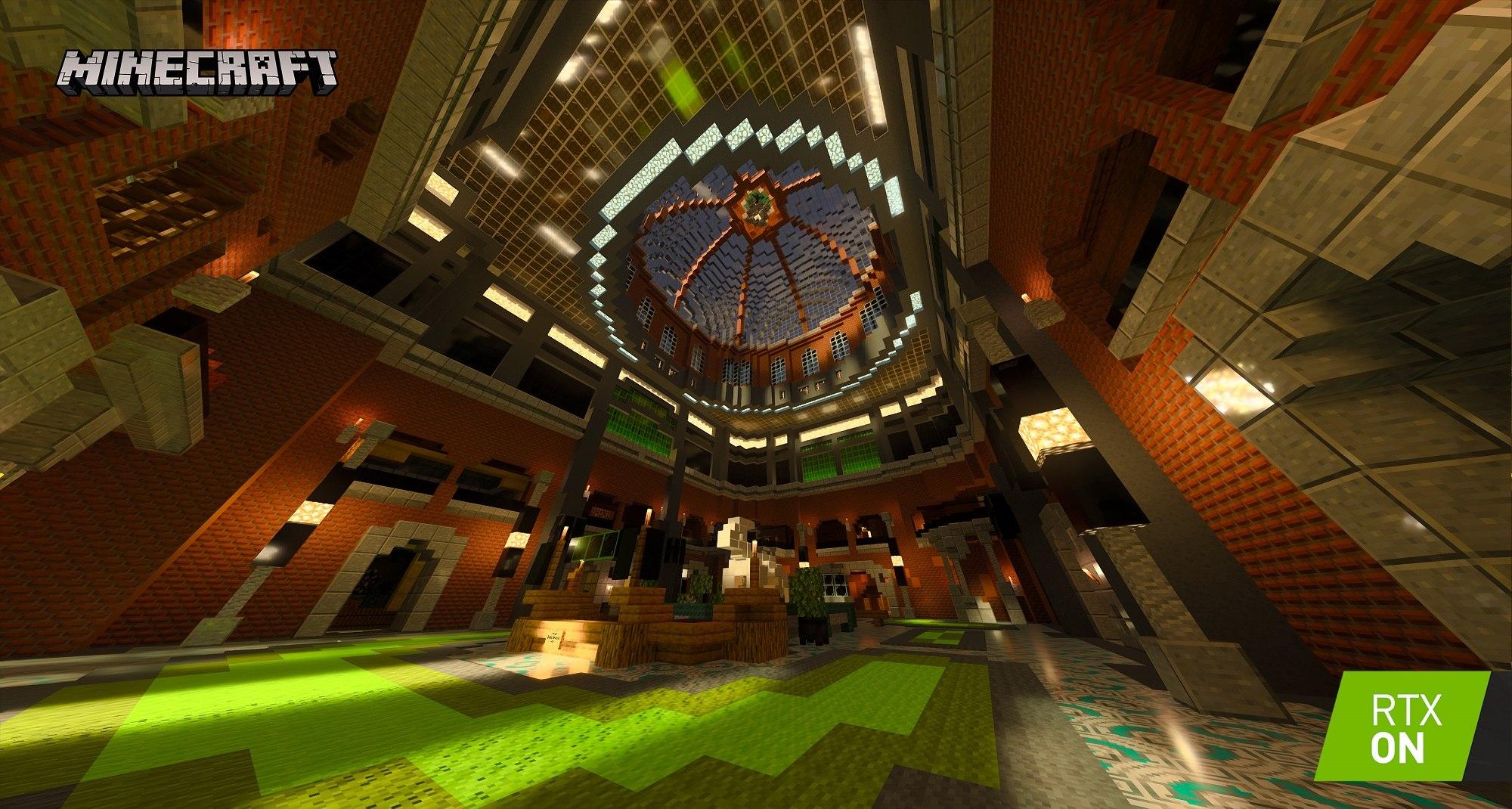 minecraft with rtx beta razzleberries texture showcase 003 rtx on