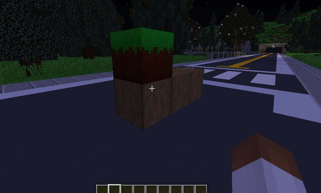 block w minecraft
