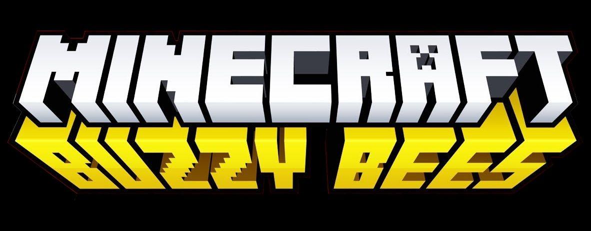 buzzy bees minecraft 1.15 update logo