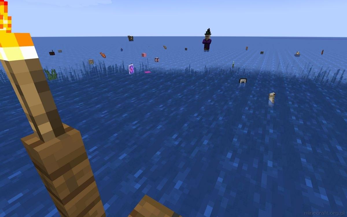 drifting raft minecarft mapa 2