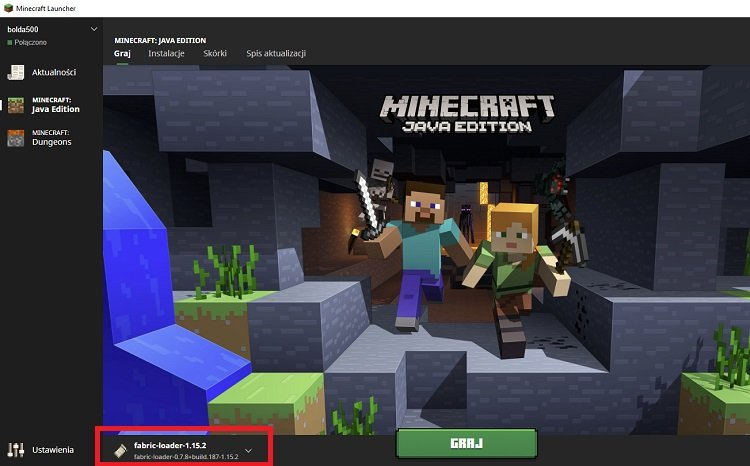 launcher minecraft profil fabric