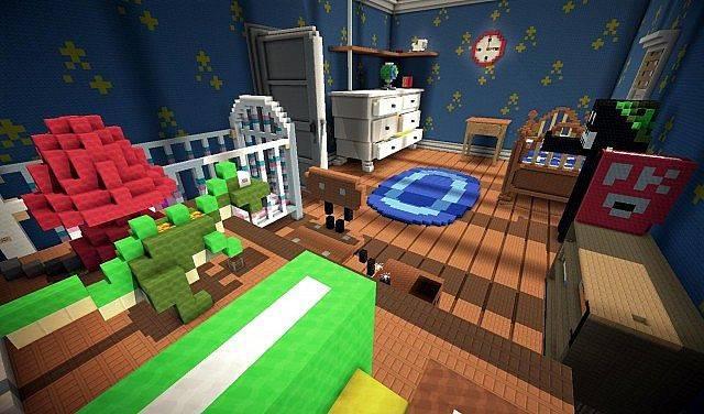 frajda z gry w minecraft toy story 2 mapa