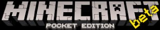 MCPE beta pocket minecraft logo