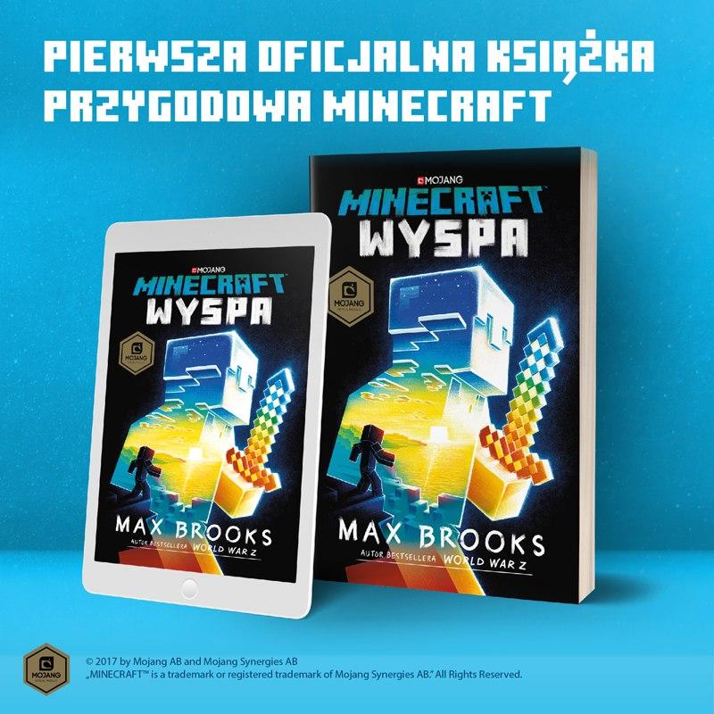 minecraft wyspa recenzja ksiazki minecraft polska img2