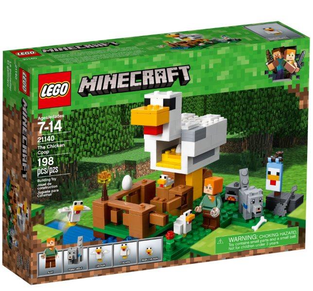 lego minecraft 21140