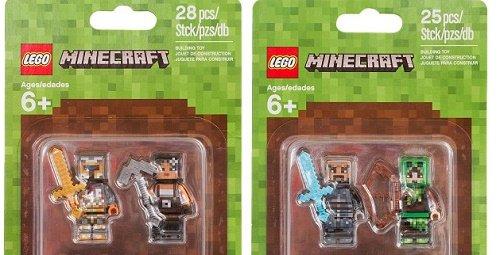 LEGO Minecraft 853609 853610 Skin Pack paczka skorek
