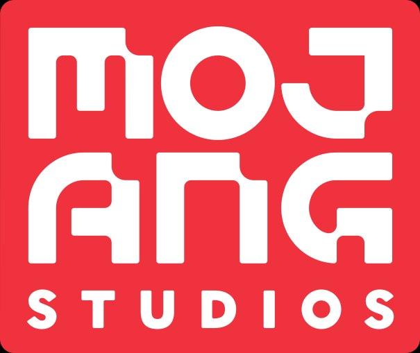 Mojang Studios Logo Redbox minecraft