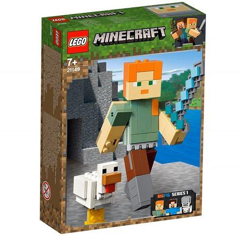 alex z kurczakiem lego minecraft 21149 1