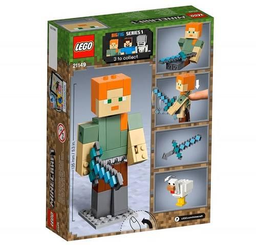 alex z kurczakiem lego minecraft 21149 2