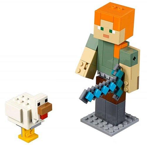 alex z kurczakiem lego minecraft 21149 3