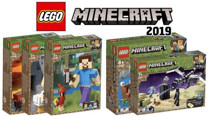 lego minecraft 2019 5 nowych zestawow bigfig