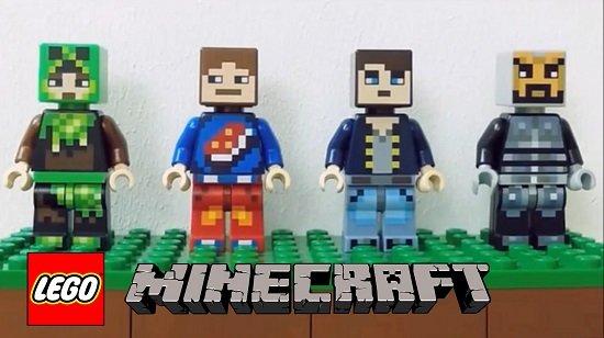 lego minecraft skin pack 1 2
