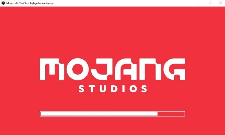 nowe logo studia mojang w minecraft 1.16