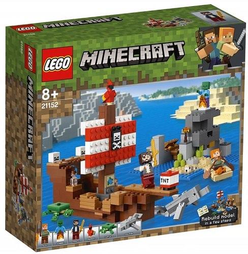 przygoda na pirackim statku lego minecraft 21152 1