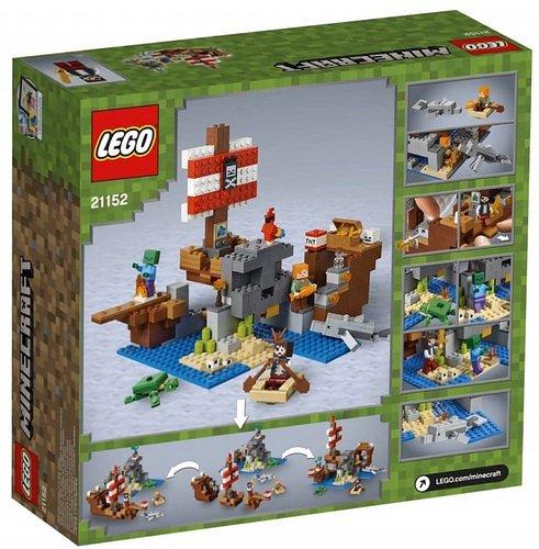 przygoda na pirackim statku lego minecraft 21152 2