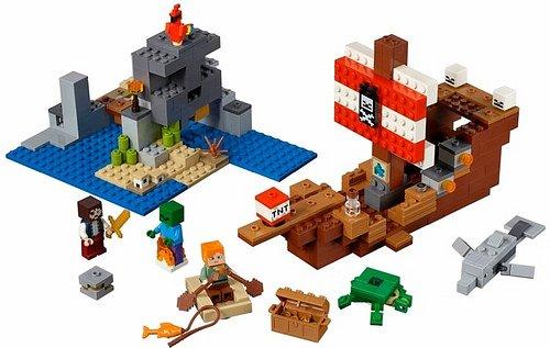 przygoda na pirackim statku lego minecraft 21152 3