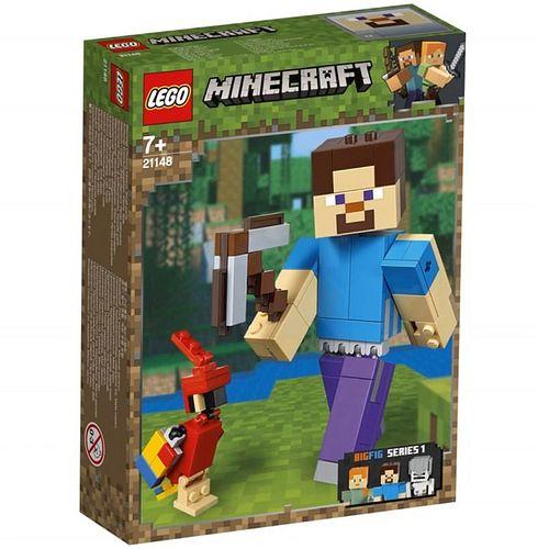 steve z papuga lego minecraft 21148 1