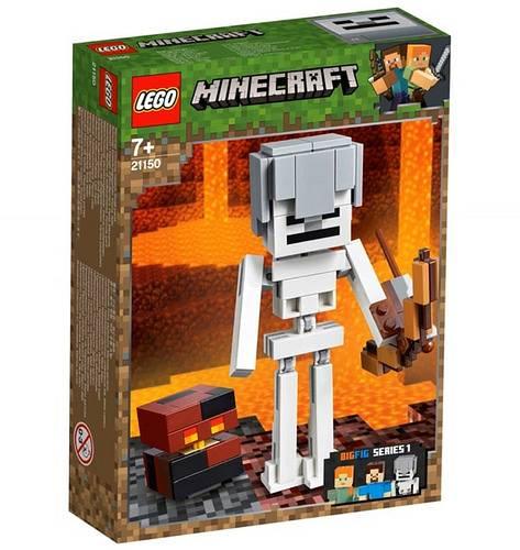 szkielet z kostka magmy lego minecraft 21150 1