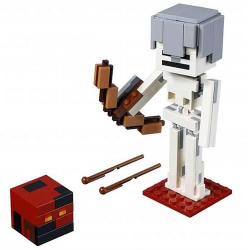 szkielet z kostka magmy lego minecraft 21150 2