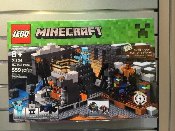 the end portal lego minecraft 2016