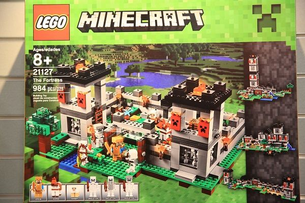 the fortress lego minecraft 2016