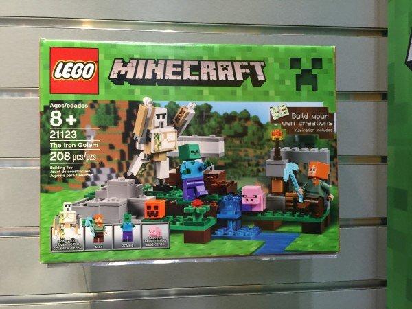 the iron golem klocki lego minecraft 2016