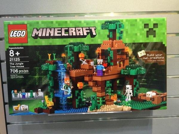 the jungle tree house lego minecraft 2016