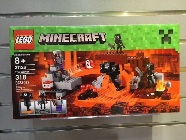 the wither lego minecraft 2016