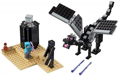 walka w kresie lego minecraft 21151 3