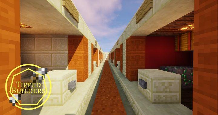 15x15 buttons mapa wyzwanie minecraft lobby pokoi