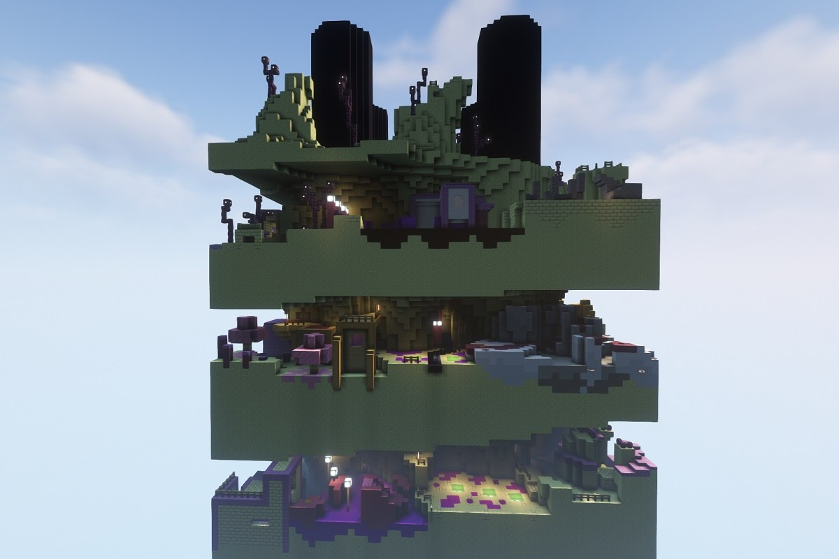 dimension parkour minecraft map by hielkie dimension 3