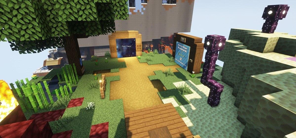 dimension parkour minecraft map by hielkie hub