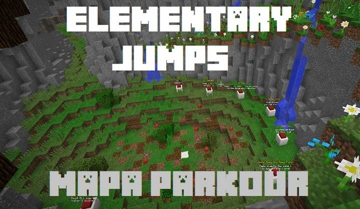 elementary jumps red apple mapa parkour mini