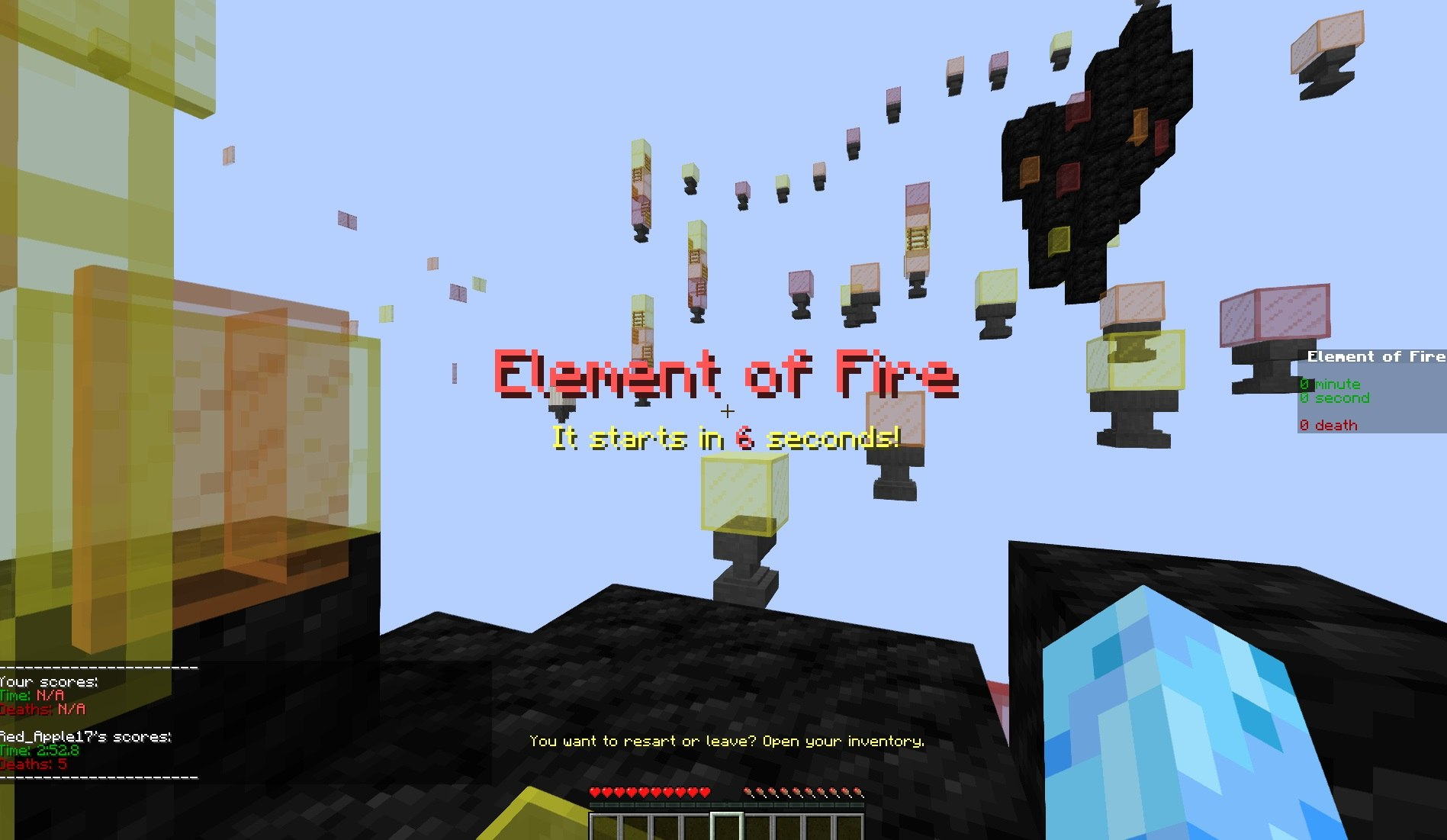 elementary jumps red apple mapa parkour p1
