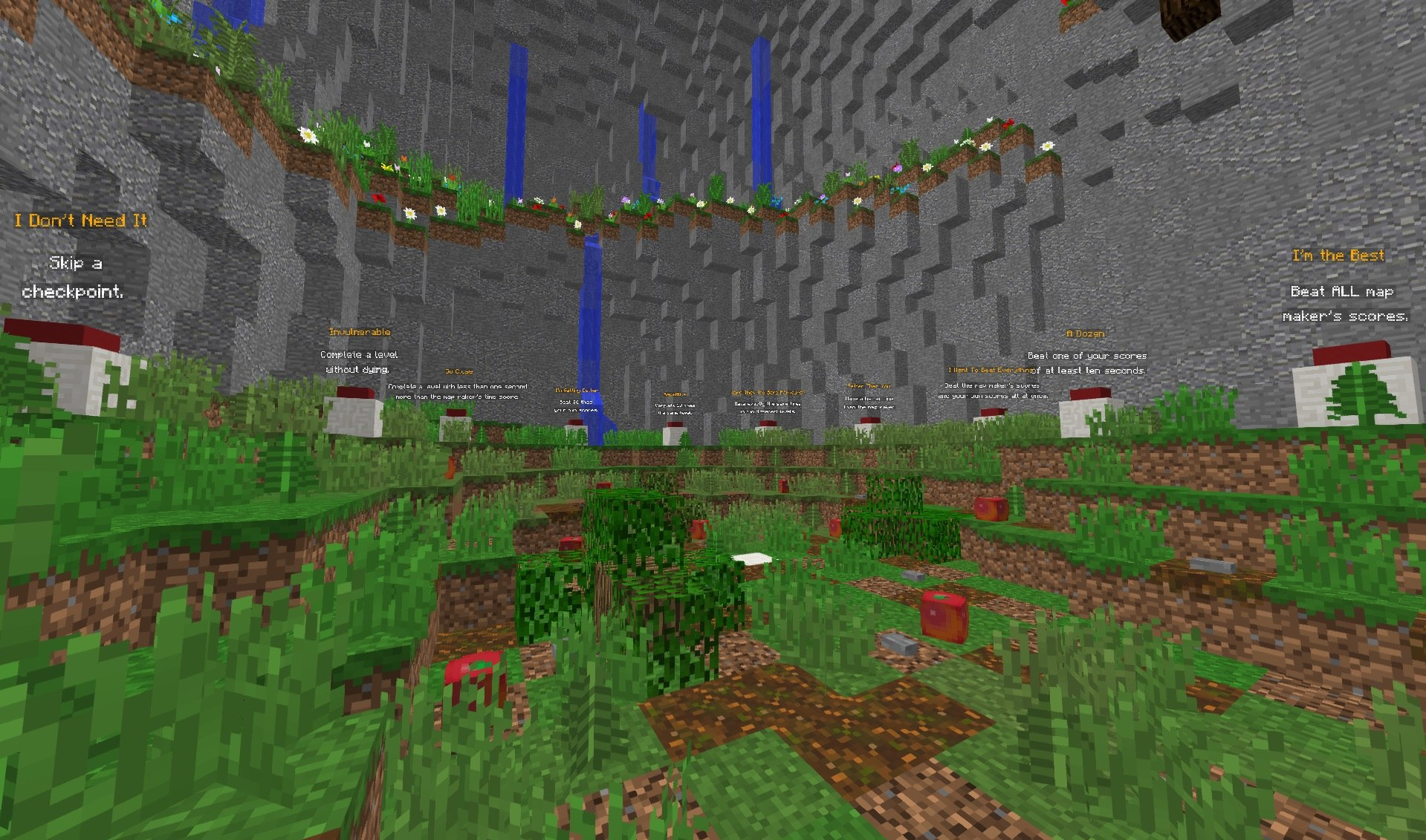 elementary jumps red apple mapa parkour