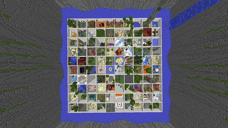 mapa Parkour Paradise raj 3 1