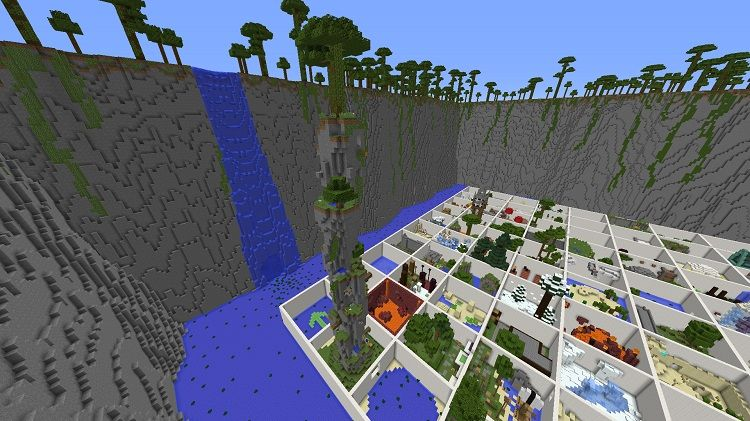 mapa Parkour Paradise raj 3 2