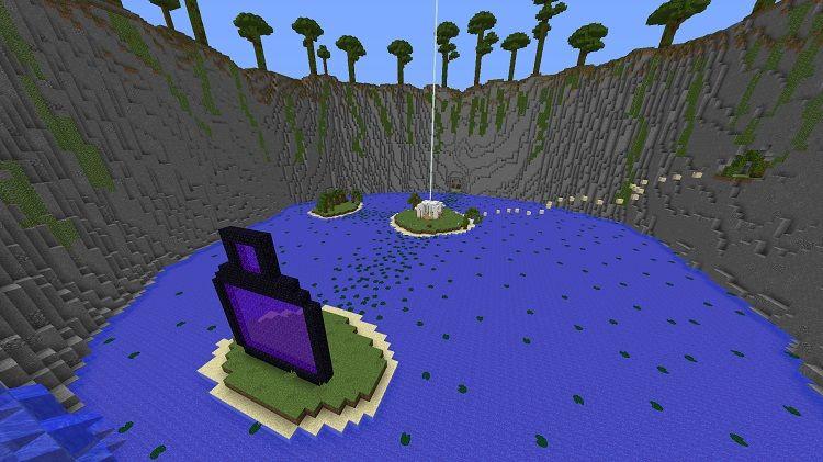 mapa Parkour Paradise raj 3 3