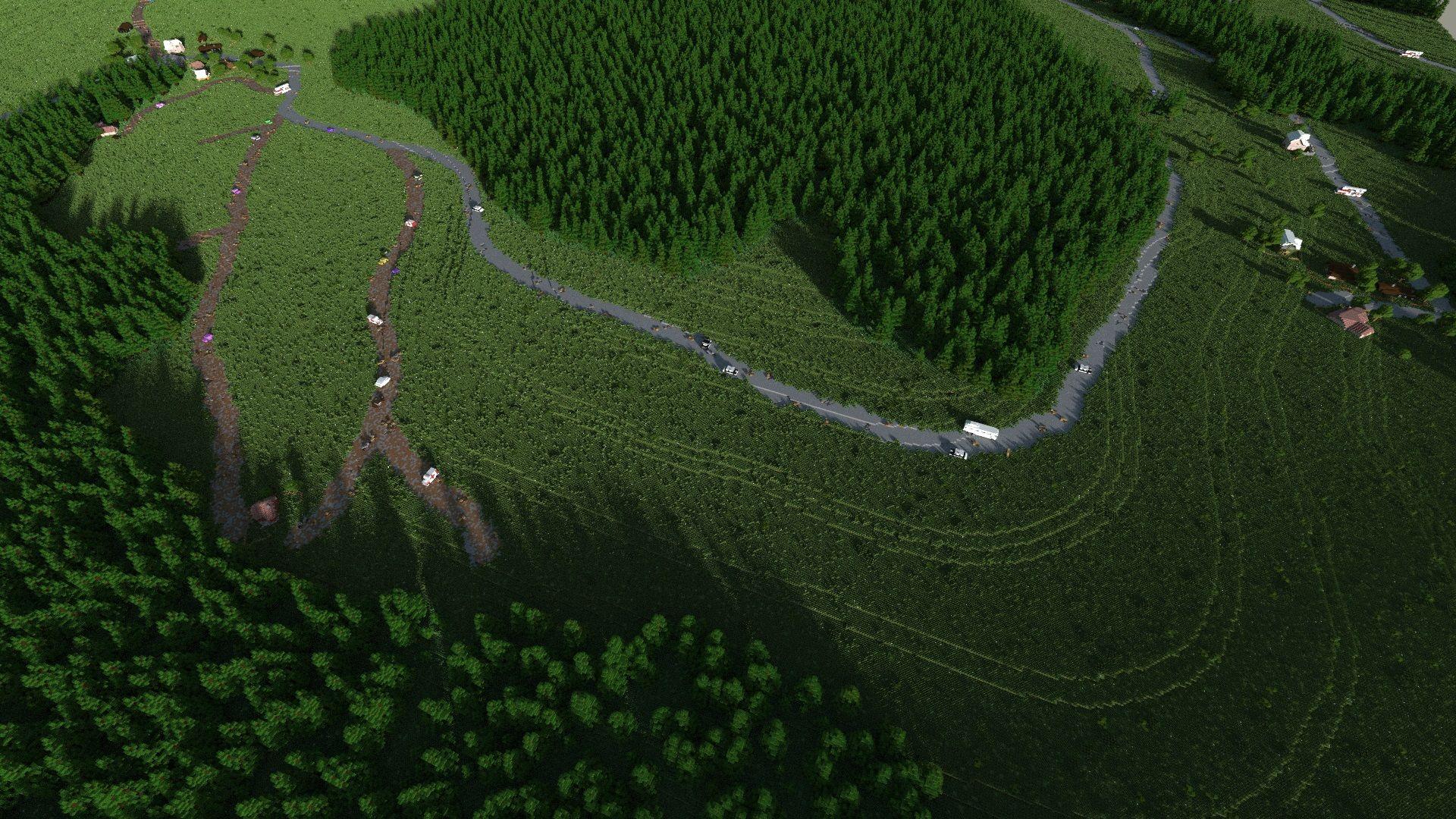 mapa chernarus dayz arma2 minecraft Bor