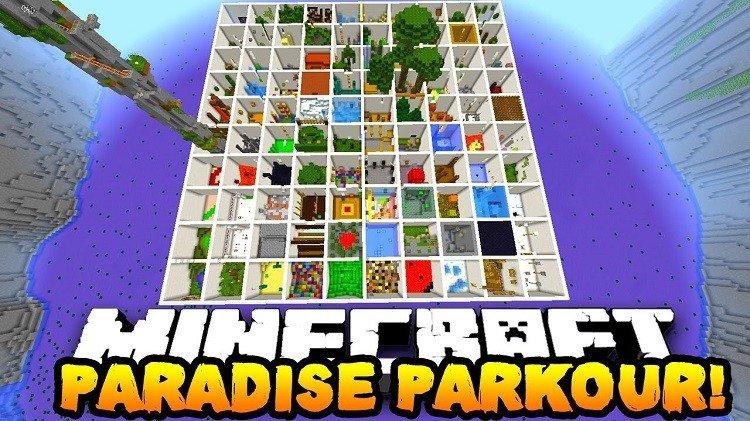 mapa parkour paradise raj 1 logo