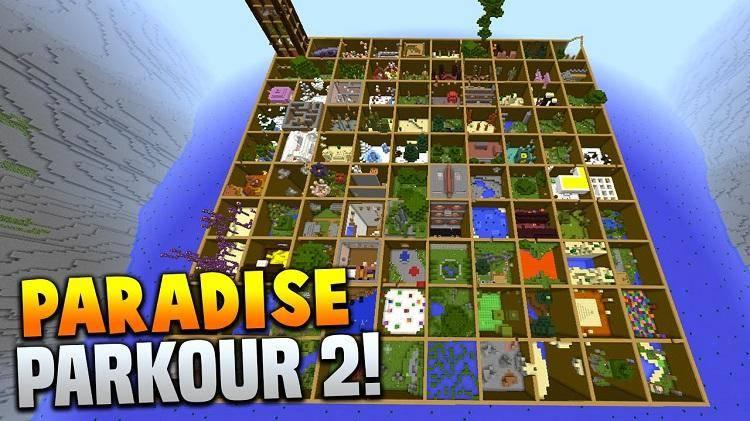 mapa parkour paradise raj 2 1