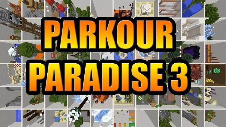 mapa parkour paradise raj 3 4