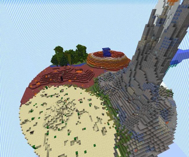 minecraft ultimate hardcore mapa wyzwanie wyspa