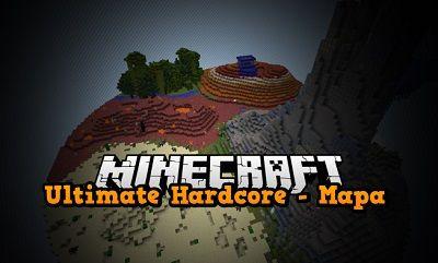 minecraft ultimate hardcore mapa wyzwanie