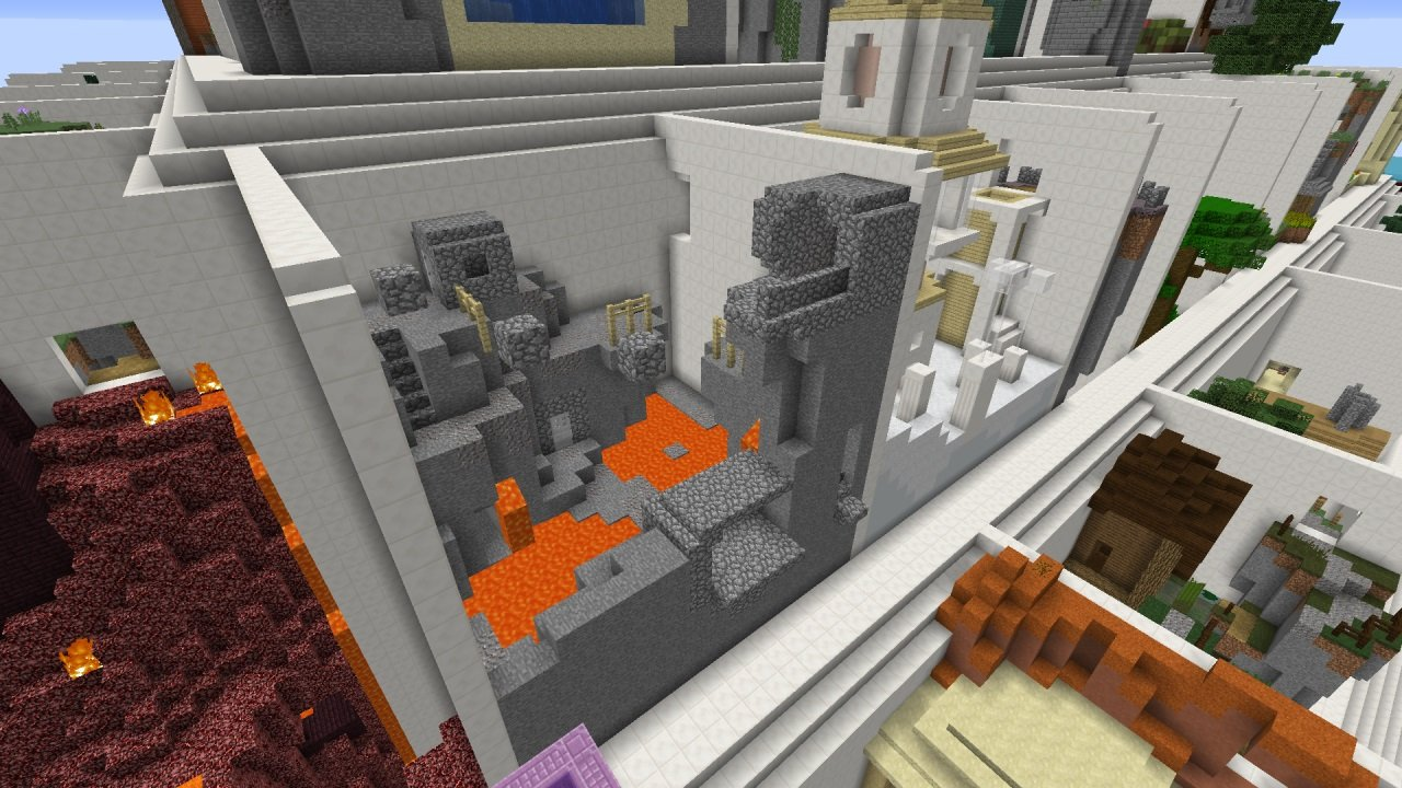 piramida parkour 1.13.2 mapa minecraft zdj4