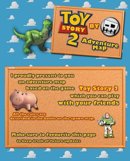 toy story 2 adventure map minecraft