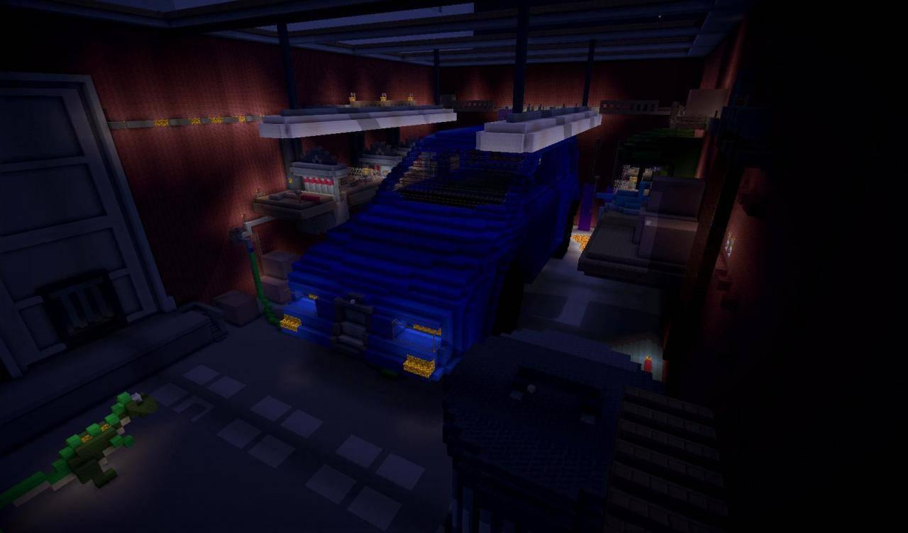 toy story 2 minecraft adventure map garage